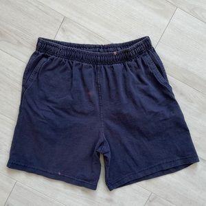 Vintage Hanes sweatshorts blue medium